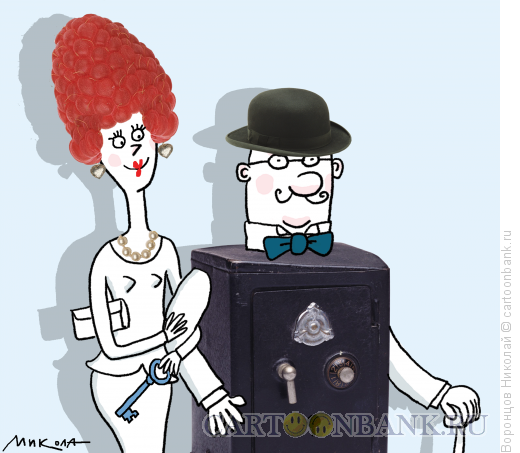 Карикатура: Семья, Воронцов Николай