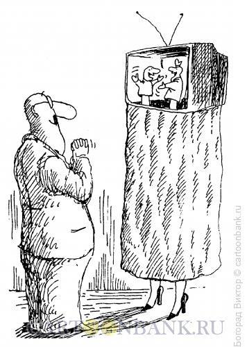 Карикатура: Телешоу, Богорад Виктор