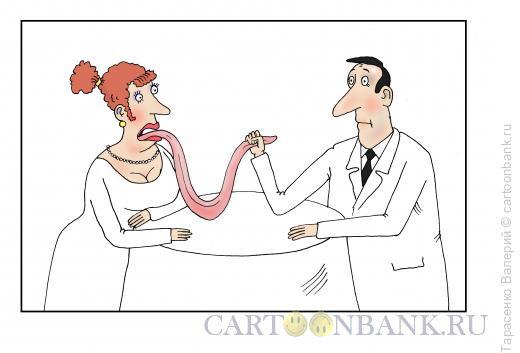 Карикатура: Армрестлинг, Тарасенко Валерий