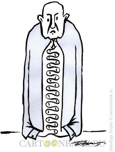 Карикатура: мыслитель, Эренбург Борис