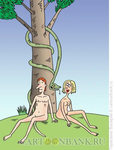 Карикатура: Искушение, Тарасенко Валерий