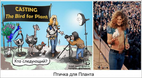 Карикатура: Кастинг, backdanov