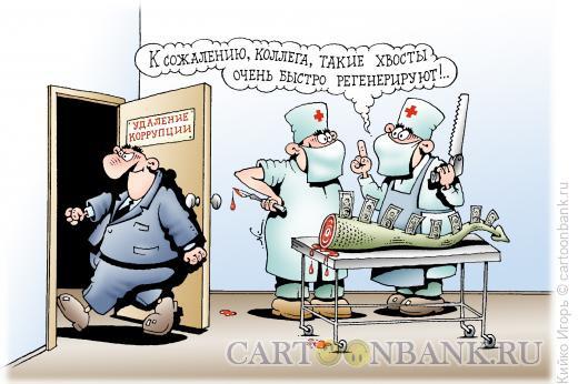 Карикатура: Регенерация коррупции, Кийко Игорь