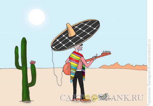 Карикатура: Играй музыкант, Тарасенко Валерий