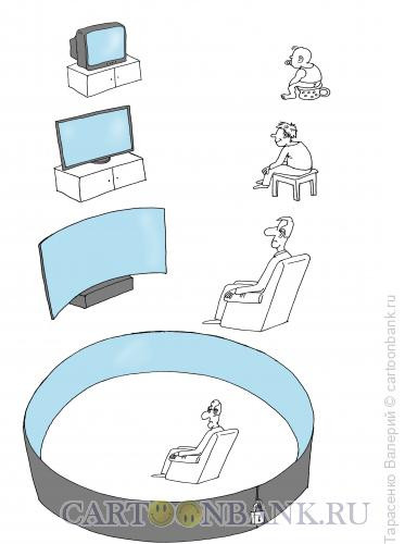 Карикатура: Прогресс, Тарасенко Валерий